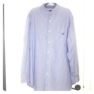 Chaps men's long sleeve button down shirt